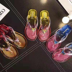 2019 crystal fashion brand master design нескользящие шлепанцы пляжные тапочки сандалии для женщин летняя плоская наружная одежда