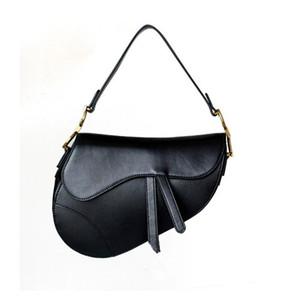 Spalla di vendita calda di lusso classici del progettista borsa di alta qualità di cuoio delle donne del sacchetto del sacchetto della sella 2020 nuovo modo Lettera Tote metallo