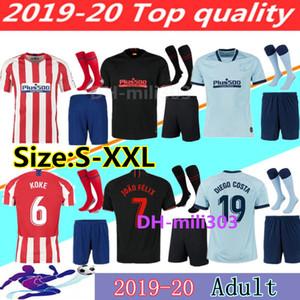 19 20 JOÃO FÉLIX Atletico de Madrid Soccer Jerseys 2019 2020 LLORENTE camiseta de fútbol football soccer shirt kits jerseys JOAO FELIX