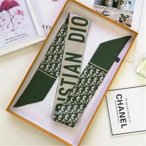 Çanta Kafa atkı için Kadınlar Yüksek Kaliteli İtalya Markalar İpek Eşarplar küçük bere için 2020 Yeni tasarımcı İpek Çanta Uzun Eşarp şal