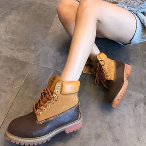 Yeni Su Geçirmez Çizmeler Kadın Erkek Spor Kış Sneakers Kaymaz Rahat Eğitmenler Erkek Bayan Ayakkabı Boot Boyutu 35-46 Kutusu Ile