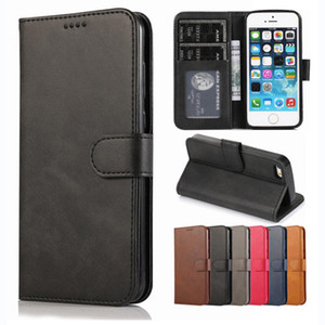 Luxury PU Leather Wallet Case PhotoFrame Slot For iPhone 11 Pro X XR XS Max 8 7 6 Samsung S6 S7 Edge S8 S9 Plus S10 5G S10E Note 9 10 10+