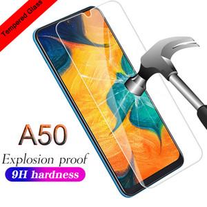 9H vidrio templado para el Samsung Galaxy A10 A20 A30 Pantalla M10 M20 M30 protector 2.5D vidrio de seguridad para Samsung A51 A71 A91 A50 A60 A70 A90 Cine