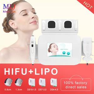 Yeni 2 1 liposonix Yüz Germe Vücut Zayıflama ve Kırışıklık Remover Sıkma kilo kaybı Cilt için yüz makineyi HIFU