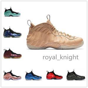 Nuovo arrivo Sequoia Nero Metallico Oro Penny Hardaway Uomo Scarpe da basket in schiuma una Galassia alternativa OG Royal Olympic Sports Sneakers 41-47