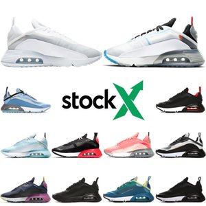 Nike air max 2090 airmax Nouvelle Mode 1 Hommes Femmes Chaussures De Course Anniversaire royal Patch Atomic Sarcelle Parra Porto Rico 87 Hommes Sports Sneakers des chaussures