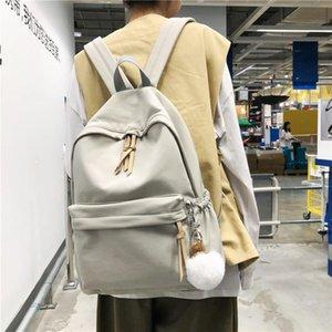 Fashion Backpack Women Nylon Shoulder Bag 15.6 Inch Laptop School Backpack Teenage Girls Waterproof Female knapsack