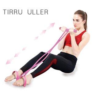 Multi-Funktions-Puller Pedale elastische Beine Spannseil Rumpfbeuge Bauch Fitness-Übungs-Körper-Formung Thin Belly Abnehmen Werkzeug