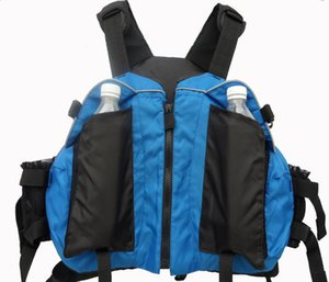 Wholesale- buoyancy aids PFD kayak jacket rafting sailing canoeing ocean boat Swimming drifting Safety life jacket life vest fishing vest