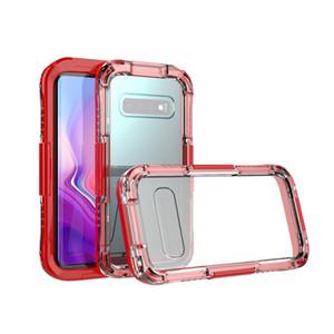 Casos de Heavy Duty à prova d 'água para iphone 6 7 8 plus phone case capa à prova de choque à prova de poeira para samsung s10 nota 9 iphone xs / xr