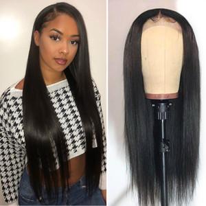 Rendas frente perucas de cabelo humano raw indiano reta cabelo remy lace frontal perucas hot star 150% densidade glueless perucas frente do laço