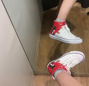 2020 Design-Promotional Hot Sale Kids Canvas Shoes Fashion High Low Children Shoes Boys and Girls Sports Classic Canvas Shoe Size 35 44