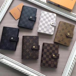 2020 neue Mens Art und Weise klassische beiläufige Kreditkarte Identifikation-Halter-Qualität Notebook Ultra Slim Wallet Packet Für Mans / Womans