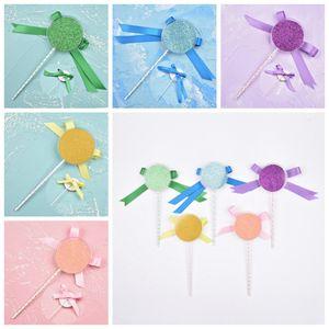 Shimmer Lollipop Lashes Box 3D норковые Ресницы Коробки Поддельные Ресницы Упаковка Case Empty Ресницы Box Cosmetic Инструмент RRA1278