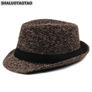SHALUOTAOTAO Trend Autumn Winter Fashion Leisure Fedoras For Men's Elegant Panama Party Jazz Hat Sombrero Brands Cap Casquette