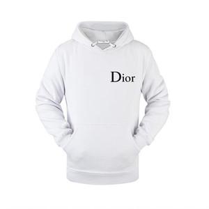 Tasarımcılar Kazak Casual Ceket Lüks siyah beyaz açık havada kapüşonlu 1913SS Marka İtalya Dior Kadın Erkek Kazak Giyim 5XL / Dior kapüşonlu