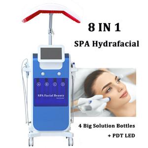 Spa Aqua Clean Hydra آلة الوجه العميق تقشير الجلد Hydrafacial MD LED الأكسجين Jet Spray Hydra آلات جلدي الوجه