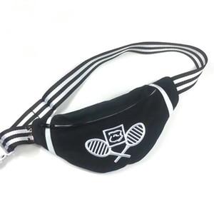 NUOVO sacchetto della vita di stile con la borsa marsupio cintura di tela nera buon sport qualità (Anita Liao)