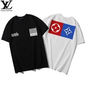 Мужская с коротким рукавом популярный логотип 2020new тренд лето мороженое летнее платье хлопок футболка рубашка Половина рукава мужская футболка W26