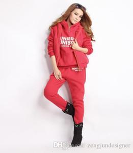 Designer 3Pcs Tute Felpe solido di colore lunga lettera manica stampano i pantaloni di maglia femminile abbigliamento invernale 6XL Womens Style Sport