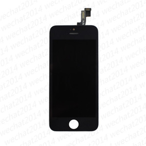 (100% Tested) LCD Display Touch Screen Digitizer Assembly Replacement Parts for iPhone 5 5S 5C SE 6 free DHL