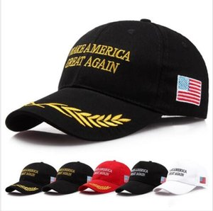 Trump 2020 Hats Donald Trump Caps Make America Great Again Baseball Cap US President Elected Outdoor Summer Beach Hats SportsSunHat LQPA5063