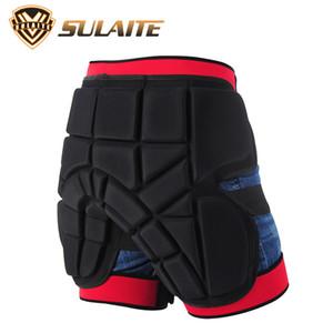 Ski Snowboard Skate Hip Protector Ski Cyclisme Motocross Pantalon Armure Tumbling de protection adulte Hip matelassée Pantalon court porter à l'extérieur