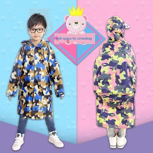 81191013 soft material girl- boy Boy Child-poncho year 12-waterproof 7 raincoat girl big child Cloak cloak -