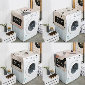 Nordic style Dust cover for household appliances All-Purpose Covers Washing machine covers Single door refrigerator covers 05