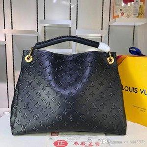 # 3536 ARTSY 5A L marca di modo di disegno delle donne Shoulder Bag V borse classiche Borsa PELLE Damier Azur Borse 44869 40253