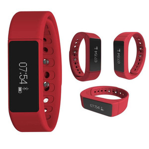I5 Além disso Inteligente Wirstwatch Bluetooth Caller ID mensagem de lembrete Pulseira de Fitness Rastreador Passometer sono Smart Monitor relógio para iOS android