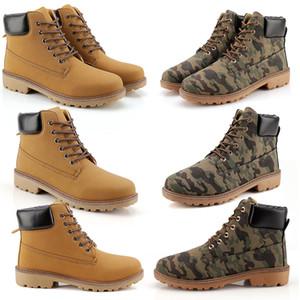 2020 وصول جديد للرجال والنساء أزياء عارضة مارتن الأحذية غير التجارية لون حار أسود الجيش الأخضر البني حجم 39-46