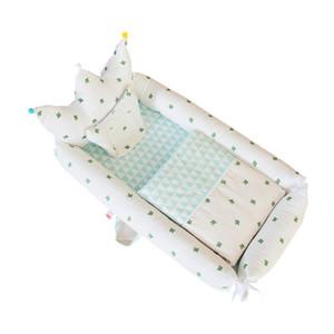 Tragbare Anti-Druck Baby Krippe Faltbare Und Abnehmbare Baby Isolation Bett Baby Bionic Bett Schlafen Bionic Nest Unisex Bett Krippe Mit Quilt