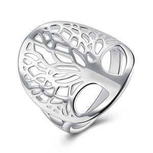 Cheap Silver Plated Fashion Rings for Women, Tree of Life Men Ring Men,wedding Rings Femma,party Jewelry Accessories,metal Bijoux