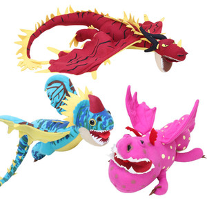 How To Train Your Dragon 3 Toothless Anime Figure Nadder Hageffen Red Dragon Toys Dragon Plush Doll Toys For Children