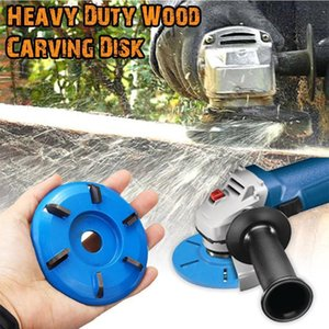 Three Six Teeth Power Woodworking Carving Cutter Turbo Plane For Aperture Angle Grinder Wood NEW Diameter 16mm