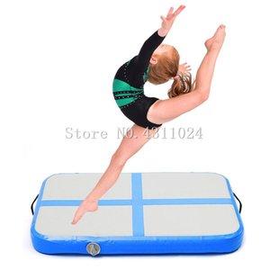 Livraison Gratuite Un Petit 0.6x1x0.2m Pneumatique Voie D'air Tapis De Sol Air Gym Air Mat Gonflable Airtrack Pour Enfants