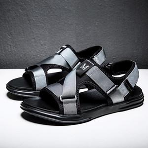 Hot Sale-Guderian Mens Sandálias do verão sapatos masculinos exterior Praia Sandals Homens Moda Casual sapatos Sandalia Playa Sandales Homme 2019