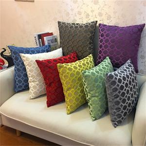 Yastık Kılıfı Saf Renk Kesim Kazık Lüks Yeni Stil Minder Kapak Kanepe Ofis Otomobil Pillowslip Fabrika Doğrudan Satış 7 9sc p1