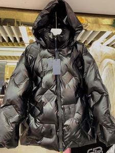 19high uç kadınlar kızlar kısa yastıklı parka ceketin bir çok renkli ekose mektup kış uzun kollu ceket moda tasarım lüks dış giyim