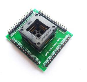 Freeshipping QFP64 TQFP64 LQFP64 soket adaptörü IC testi soket programcı qfp64 soket tqfp6 programcı