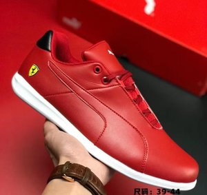 PUMASF FUTURE CAT CASUAL men's motorcycle racing shoes lightweight non-slip rubber sports shoes locomotive red size 39-44