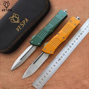 Yüksek kaliteli VESPA S35VN saten bıçağı (S / E.D / E) Sap: Alüminyum, Açık kamp sağkalım EDC araçları bıçaklar