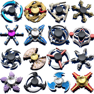 100 types fidget Spinner Fingertip Gyro games hand Spinners Dragon wings eye Decompression Anxiety Toys ST883