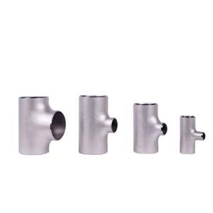 ASTM B363 Titanlegierungsgrad 7 entspricht T-Stück Gr7-Titanrohrfittings, Winkelstück / T-Stück / Reduzierer heißer Verkauf