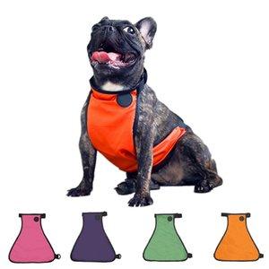 Pet Bellyband Waterproof Large Dog Raincoat Ajustable Pet Lightweight Rain Jacket Clothes Poncho Hoodies Large Pet Clothing