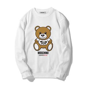 Moschino Neue Ankunftmens-Designer Hoodie Männer Frauen Mode Causal-Rundhalsausschnitt Langarm-Sweatshirt-berühmte Marke Mens Hoodies # 97122