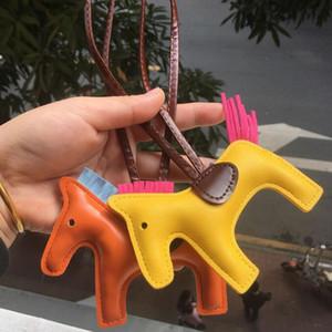 Venda Quente PU Cavalo Chaveiro Designer Chave Buckle Bolsa Pingente Charms Requintado H Pingentes Chaveiros Tassels Chaveiros