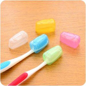 Im Freien Reise Zahnbürste Kopfbedeckung Mini Pinkycolor Zahnbürsten Hülse Wiederverwendbare Tragbare Heißer Verkauf Mit Verschiedenen Farben 0 61ds J1