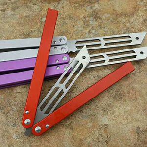 Recomendado The One Squid High-end de alumínio Handle Prática Edge (quatro cores) tudo Camping punho de aço faca de caça dom selvagem